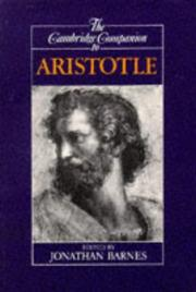 The Cambridge Companion to Aristotle (Companions to Philosophy)