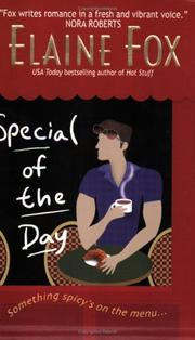 Cover of: Special of the day