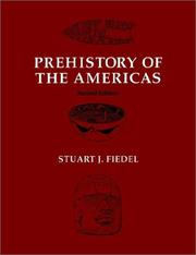 Cover of: Prehistory of the Americas