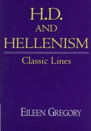 Cover of: H.D. and Hellenism
