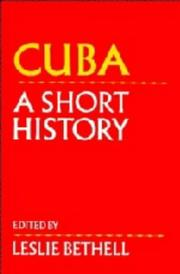 Cover of: Cuba | Leslie Bethell