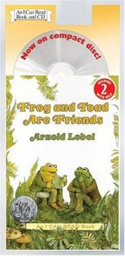 Cover of: Frog and Toad Are Friends Book and CD (I Can Read Book 2) | Arnold Lobel