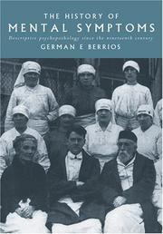 Cover of: The history of mental symptoms
