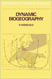 Cover of: Dynamic Biogeography (Cambridge Studies in Ecology) | R. Hengeveld