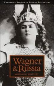 Cover of: Wagner and Russia