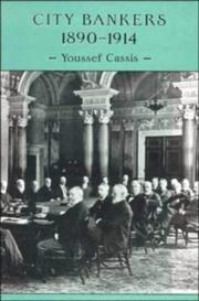 Cover of: City bankers, 1890-1914