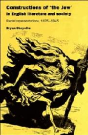 Cover of: Constructions of the Jew in English literature and society | Bryan Cheyette