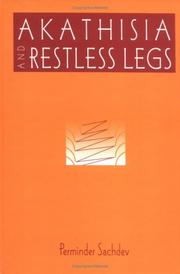 Cover of: Akathisia and Restless Legs