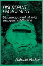 Cover of: Discrepant engagement