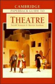 Cover of: Cambridge paperback guide to theatre |