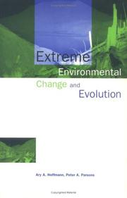 Cover of: Extreme Environment Change and Evolution | Ary A. Hoffmann