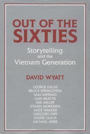 Cover of: Out of the sixties | Wyatt, David