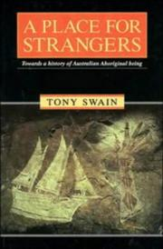 Cover of: A place for strangers | Tony Swain