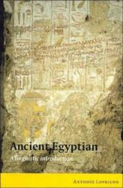 Cover of: Ancient Egyptian
