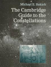Cover of: The Cambridge guide to the constellations