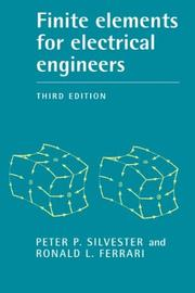 Cover of: Finite elements for electrical engineers