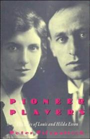 Cover of: Pioneer players | Fitzpatrick, Peter.