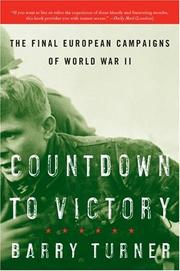 Cover of: Countdown to Victory | Barry Turner