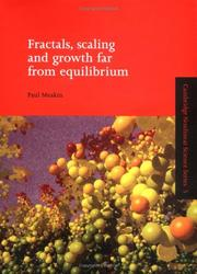 Cover of: Fractals, scaling, and growth far from equilibrium