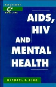 Cover of: AIDS, HIV, and mental health | Michael B. King