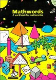 Cover of: Mathwords