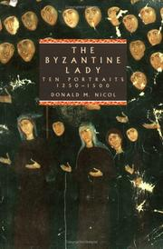 Cover of: The Byzantine lady