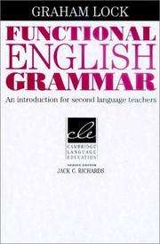 Cover of: Functional English Grammar | Graham Lock