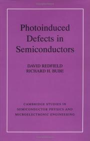 Cover of: Photoinduced defects in semiconductors | David Redfield