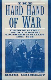 Cover of: The hard hand of war