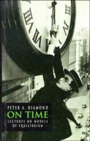 Cover of: On time | Peter A. Diamond
