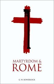 Cover of: Martyrdom and Rome