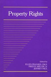Cover of: Property rights