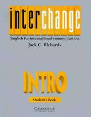 Cover of: Interchange by Jack C. Richards