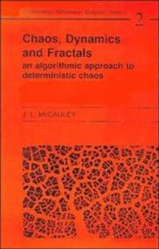 Chaos, Dynamics, and Fractals by Joseph L. McCauley