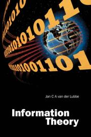 Cover of: Information Theory | Jan C. A. van der Lubbe