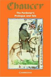 Cover of: The pardoner's prologue & tale, from the Canterbury tales | Geoffrey Chaucer