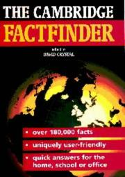 Cover of: The Cambridge factfinder | David Crystal