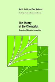 Cover of: The theory of the chemostat