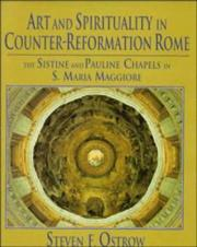 Cover of: Art and spirituality in Counter-Reformation Rome
