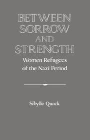 Cover of: Between Sorrow and Strength