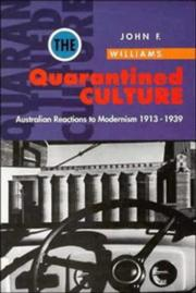 Cover of: The quarantined culture