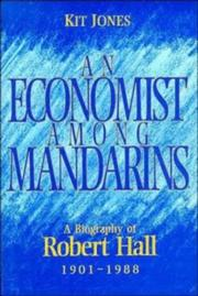 Cover of: An economist among mandarins | Kit Jones