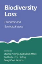 Cover of: Biodiversity loss