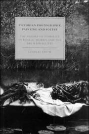 Victorian photography, painting, and poetry by Smith, Lindsay.