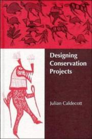 Cover of: Designing conservation projects