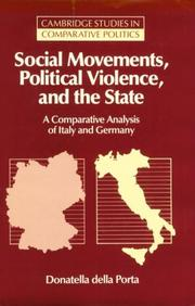 Cover of: Social movements, political violence, and the state