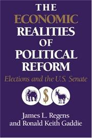 Cover of: The economic realities of political reform