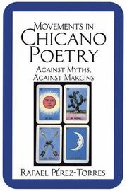 Cover of: Movements in Chicano poetry