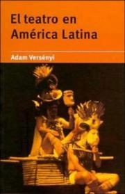 Cover of: Theatre in Latin America