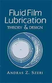 Cover of: Fluid film lubrication